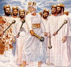 Watchtower subliminal image of king with claw hand