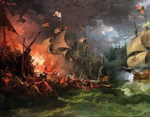 The Spanish Armada or World War III?