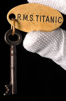 key to the locker on the HMS Titanic