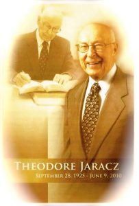 Ted Jaracz Governing Body, Jehovah's Witnesses