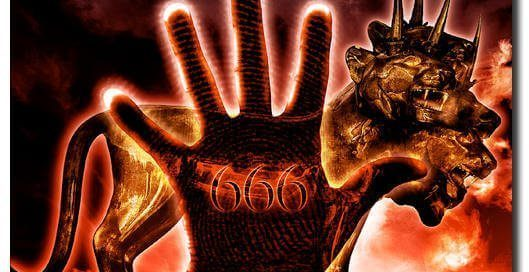 666 mark of the beast hand