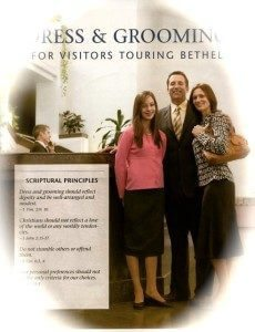 How to groom for Bethel visit brochure