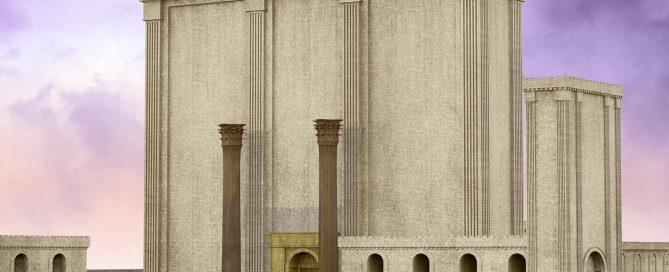 Orientación este templo de Jerusalén