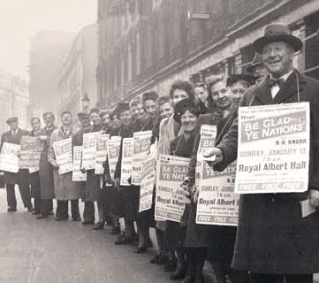 Jehovah's Witnesses 1930's information march