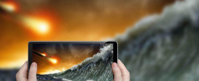 viendo fin del mundo en el iPad