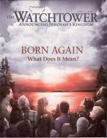 Watchtower magazine cover