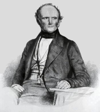 Charles Lyell - author of uniformitarianism