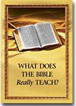 Watchtower Society publication, what does the bible Teach?