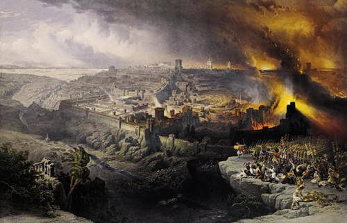 destruction of Jerusalem by Babylon