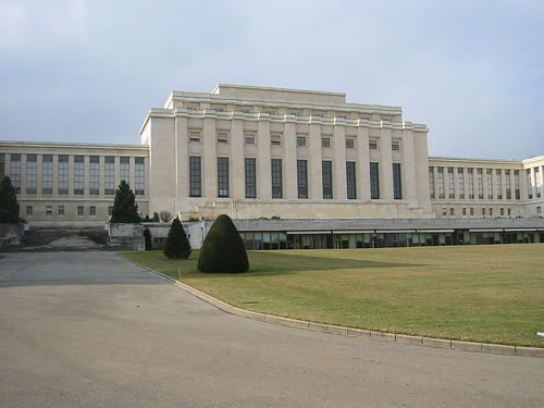 league of Nations headquaters