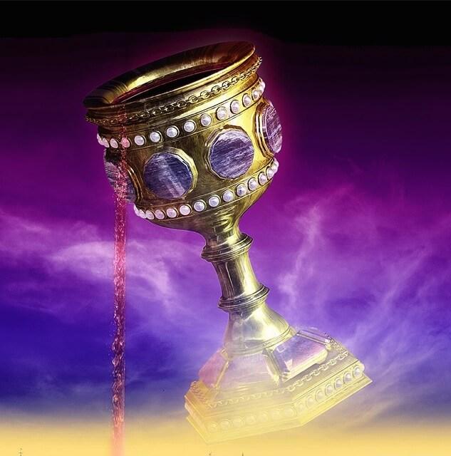 taza de tremling de la profecía de Zacarías