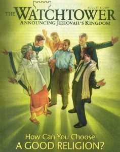 Watchtower magazine cover