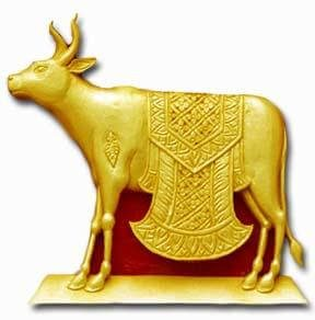 image of golden calf