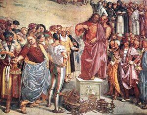 antichrist betrays Jesus