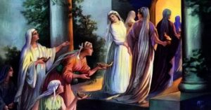 wise and foolish virgins of Jesus' parable