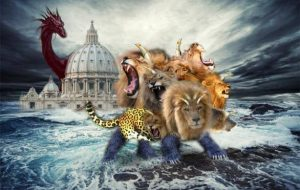 Revelation seven headed beast from the sea
