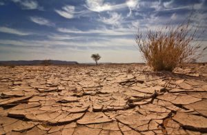 parched earth illustrates spiritual famine