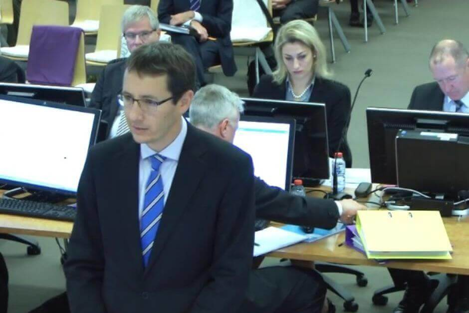 Angus Stewart Royal Commission inquiry