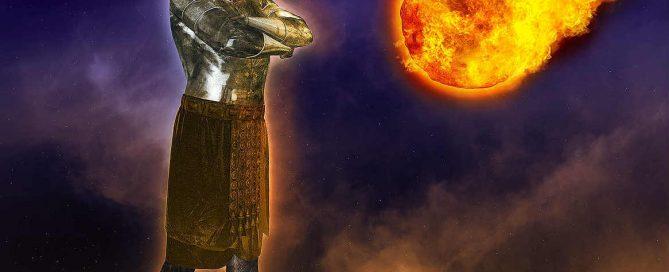 Statue of empire-kingdom stone-- prophecy of Daniel