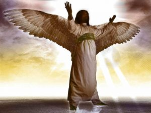 Mighty angel of Jehovah