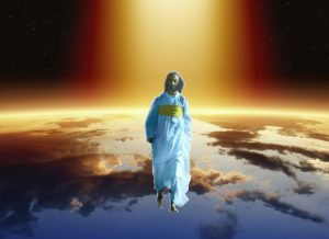 coming of the Son of man on the clouds of heaven