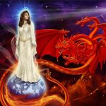 The Woman and the Fiery Red Dragon
