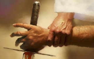 The attack of Gog from the land of Magog