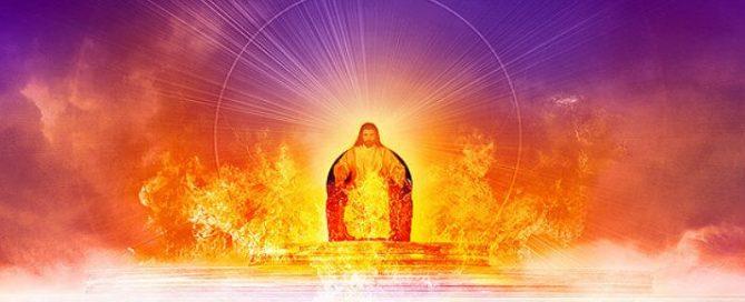 Cristo está sentado