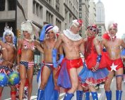 gat pride parade in New York City