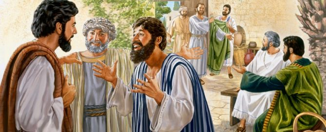 Disciples report their activity to Jesus