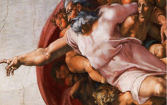 Michaelangelo's God and Adam