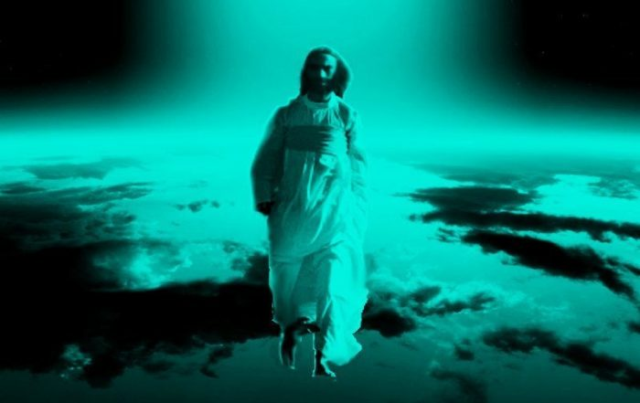 Jesus, Son of man, coming on the clouds of heaven