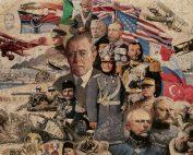 First world War collage