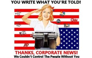 Deep state corporate fake news