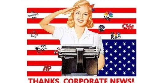 Deep state corporate fake news