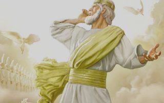Jesus commands his angels