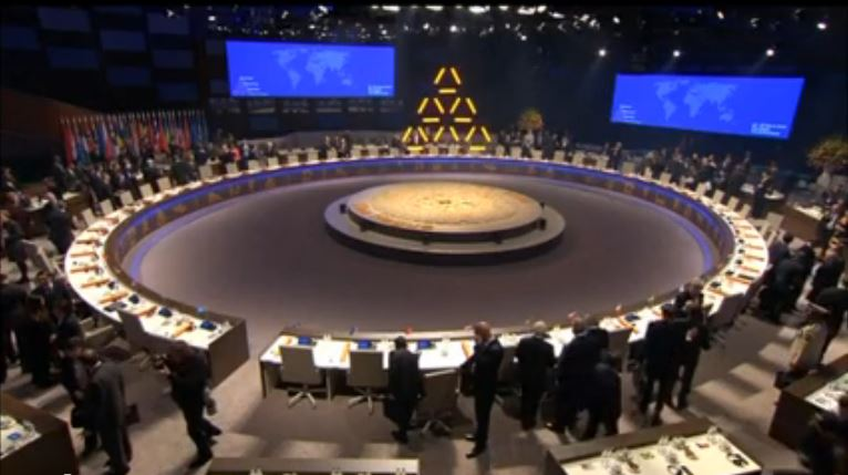Nuclear summit at Hague 2014
