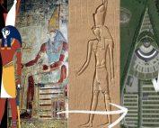 Horus head dress