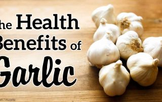 Eat some garlic!