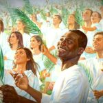 The great crowd who come out of the great tribulation