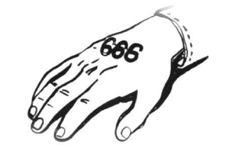 hand 666